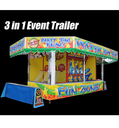 3 in 1 Rental Market Trailer